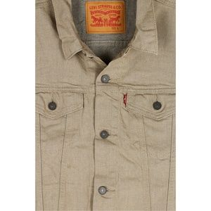 Levi's Jackets & Coats - Levi's Beige Men's Regular Fit Trucker Vest